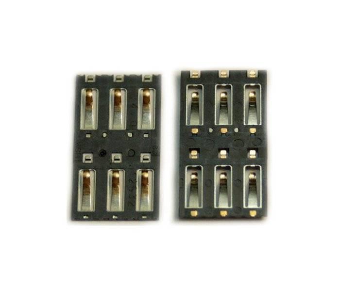 Коннектор SIM для Nokia RM-910