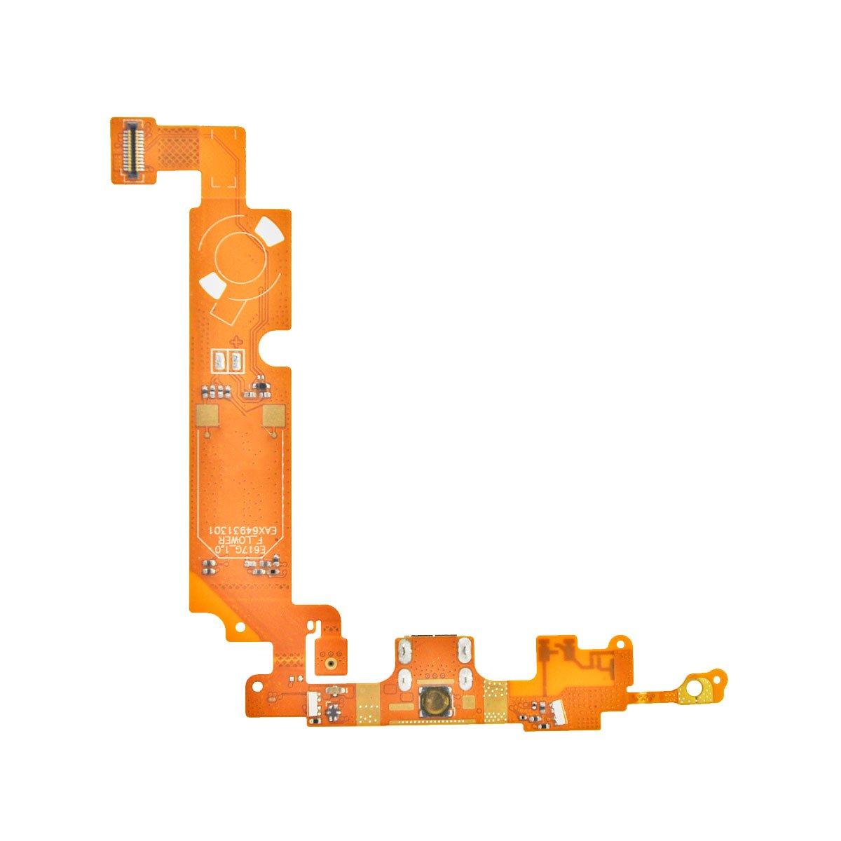 Шлейф для LG Optimus L5 Dual (E615) на системный разъем/микрофон/контакты вибромотор/антенны