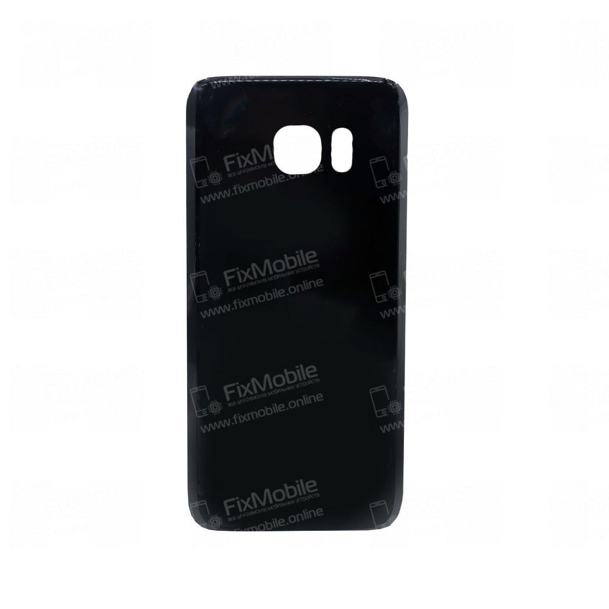 Задняя крышка для Samsung Galaxy S7 Edge (G935F) (черная)