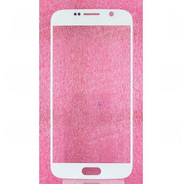 Стекло для Samsung Galaxy S6 (G920F) (белое)