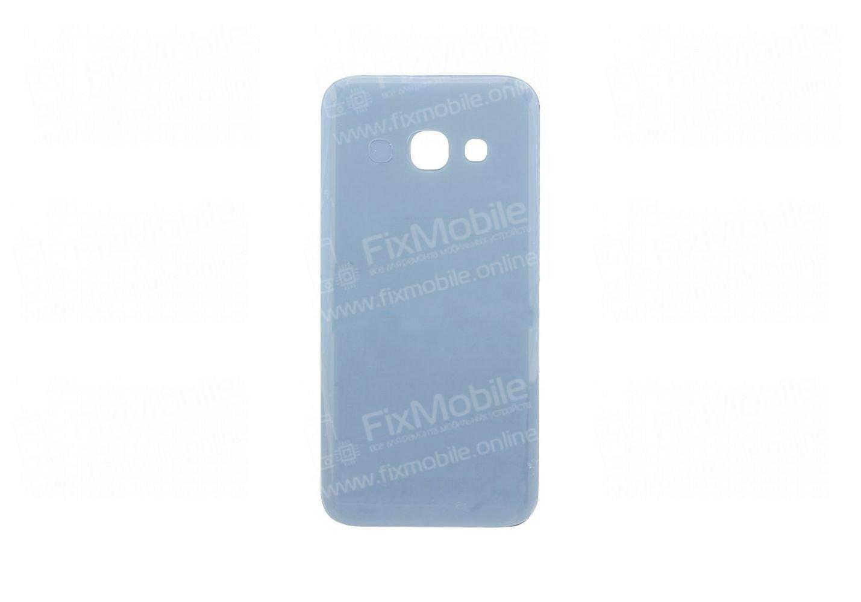 Задняя крышка для Samsung Galaxy A3 (2017) A320F (синяя)