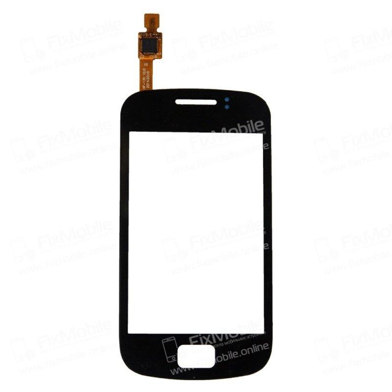 Тачскрин (сенсор) для Samsung Galaxy mini 2 (S6500) (черный)