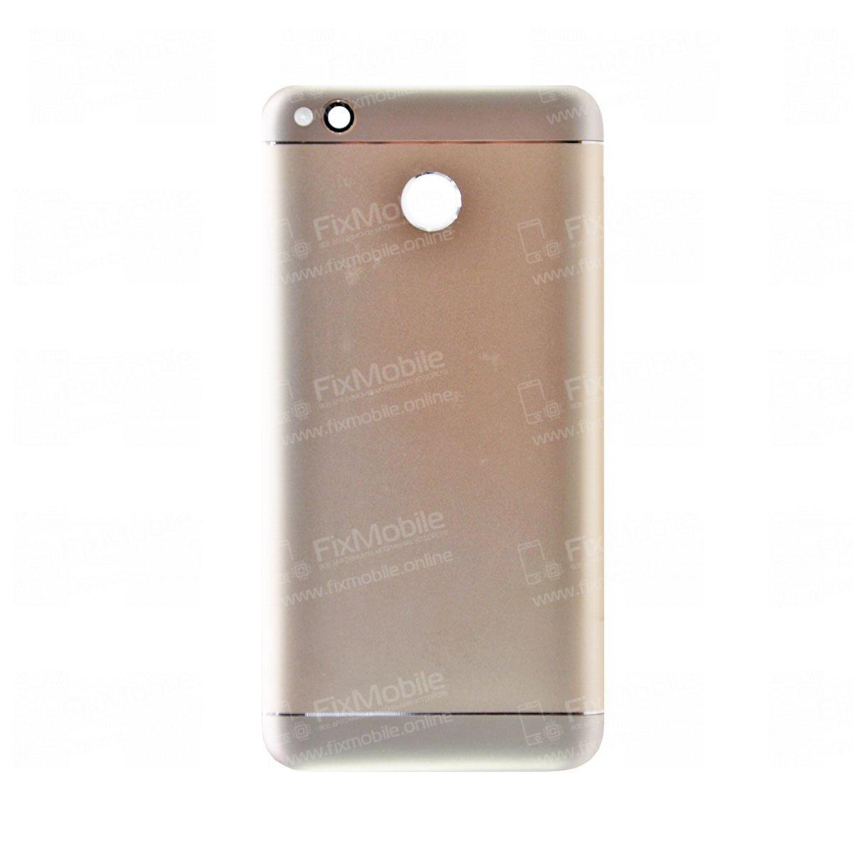 Задняя крышка для Xiaomi Redmi 4X (золото)
