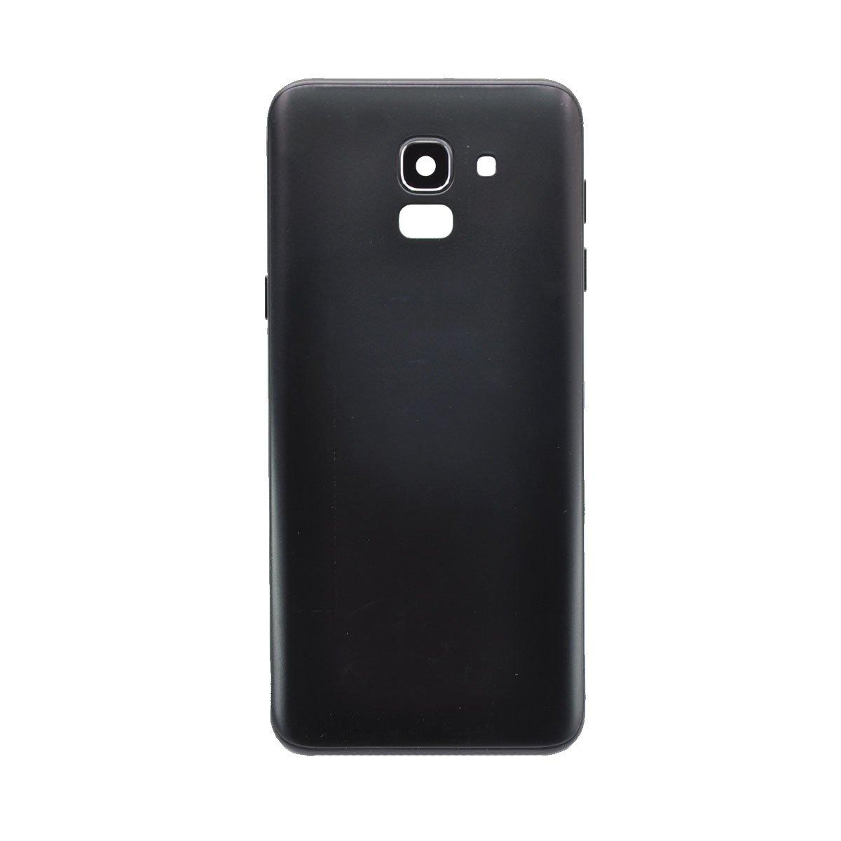 Задняя крышка для Samsung Galaxy J6 (2018) J600F (черная)